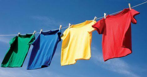 Как правильно сушить бельё