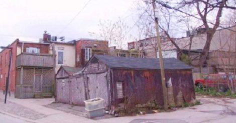 купили старый гараж