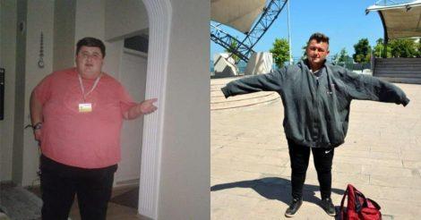 сбросил 200 кг ради своей девушки
