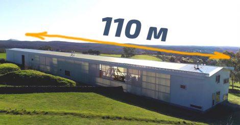 Жилой дом длиной 110 м