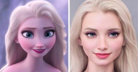 Герои мультифильмов Disney