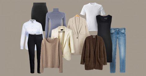базовый гардероб: инструкция