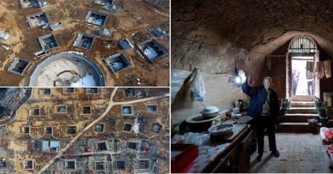 живут в подземных поселках