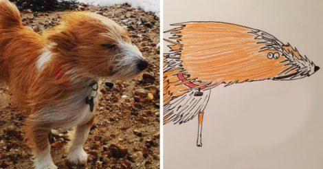 Неумелые попытки нарисовать животных