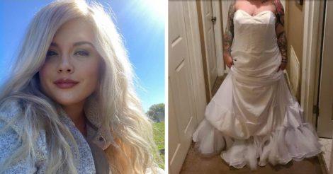 Невеста заказала платье