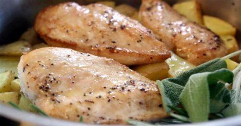 5 новых блюд из куриной грудки