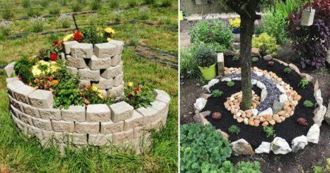 Спиральный сад для дачи