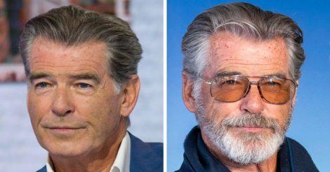 с бородой выглядят совсем иначе