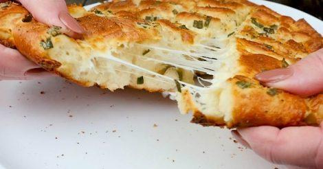 Сырный хлеб из Италии
