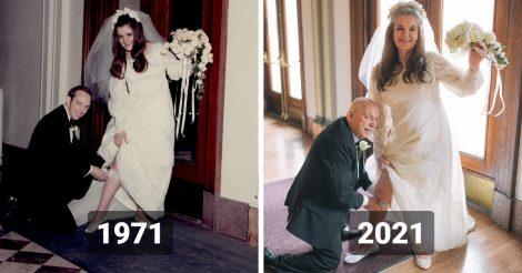 повторила свадебные снимки