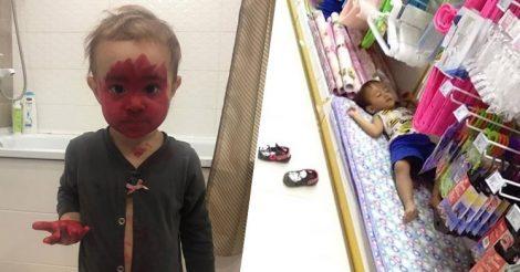 выходки детей