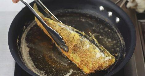 правильно жарить рыбу