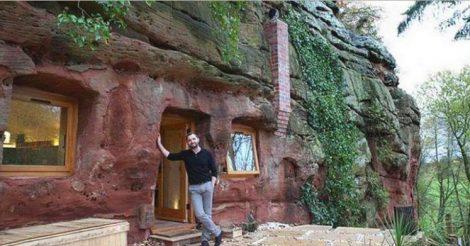 превратил пещеру в чудесный дом