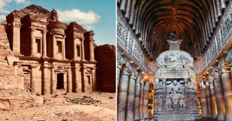 Замки и храмы в скалах