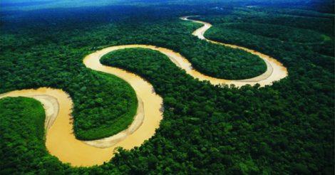через Амазонку
