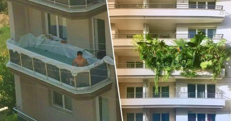 Подборка нелепых балконов