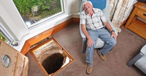 Пенсионер нашел колодец