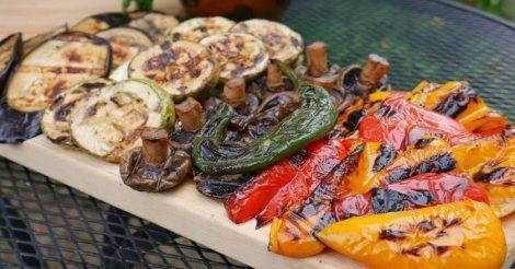 Вкусные овощи на костре