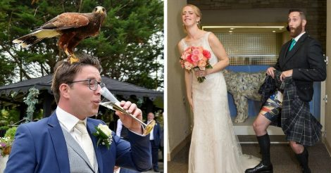 На свадьбе может случиться