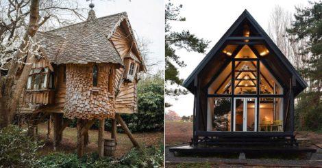 5 уютных домиков