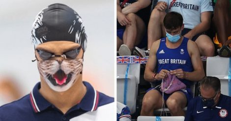 момены с Олимпиады в Токио
