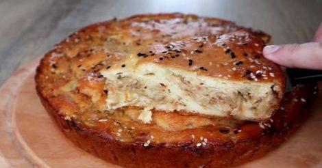 рецепт теста для заливного пирога