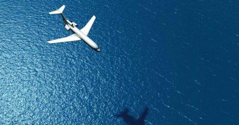 самолеты не летают над Тихим океаном