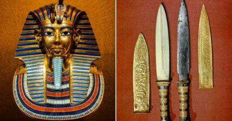 кинжалы в гробнице Тутанхамона