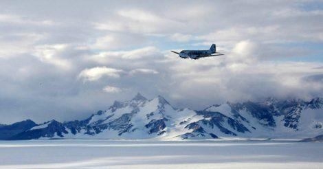 над Антарктидой запрещено летать