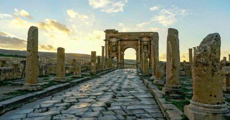 древнеримские дороги сохранились